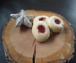 Lieblings-Weihnachtsplätzchen Engelsaugen