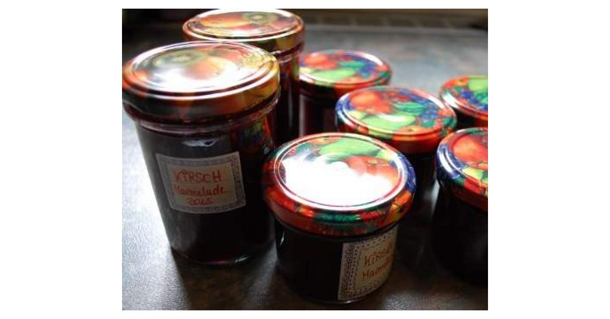 Gläser Für Marmelade : kirsch ingwer marmelade auch f r diabetiker geeignet von cawe ein thermomix rezept aus der ~ Eleganceandgraceweddings.com Haus und Dekorationen