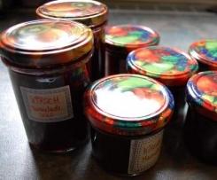 Kirsch-Ingwer Marmelade - auch für Diabetiker geeignet