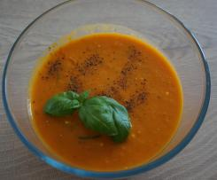 Kürbis Tomaten Suppe WW
