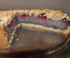 Mohn-Quarkkuchen mit Streuseln