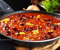 Chili con Carne - leichte Variante
