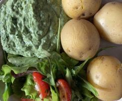 Grüne Sosse, vegan