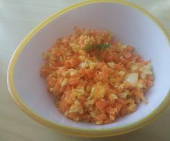 Karotten-Käse-Salat