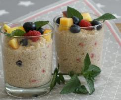 Quinoa Frühstück mit Früchten