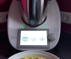 Gnocchi mit Lauch-Käse-Soße