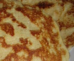 Frischkäse - Pfannkuchen ( low carb )