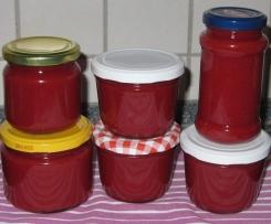Lychee/Litschi-Erdbeer-Mango-Aufstrich