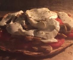 Tunfischpizza