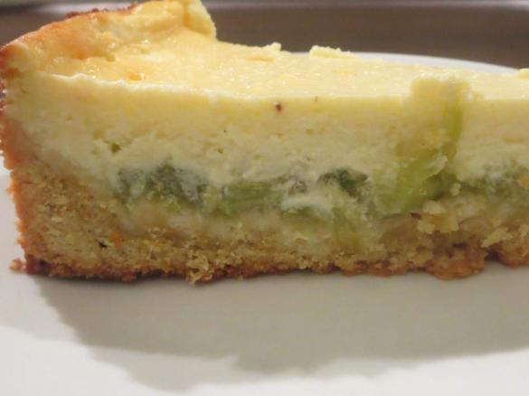Rhabarber Quarkkuchen Von Ninifee Ein Thermomix Rezept Aus Der