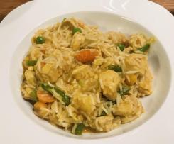 Hühnchen-Gemüse-Curry