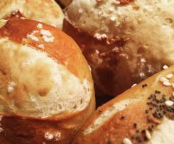 Das beste Laugengebäck-Grundrezept - Laugenbrötchen wie vom Bäcker