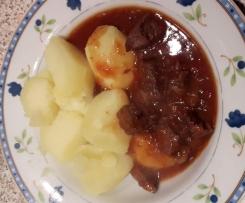 Friesländische a la Gulasch       auch als Friesländische Gulaschsuppe