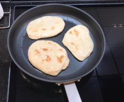 Variation Schnelles Pfannen-Brot (ohne Backofen)