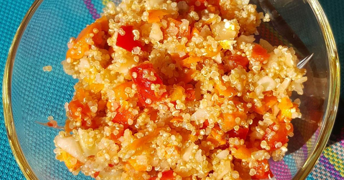 quinoa rohkost salat von nessy654 ein thermomix rezept aus der kategorie vorspeisen salate. Black Bedroom Furniture Sets. Home Design Ideas