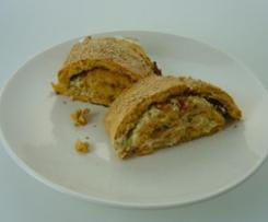 Käse-Gemüse-Rolle