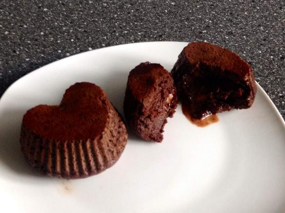 Low Carb Schokoladekuchlein Mit Flussigem Kern Von Beccy84 Ein
