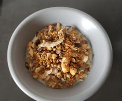 Nuss-Granola Low Carb