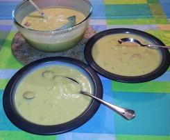 Süßkartoffel-Wirsing-Rahmsuppe