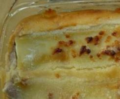 Cannelloni Auflauf süss - als Hauptgericht oder Dessert
