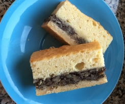 Mohnkuchen-Schnitten