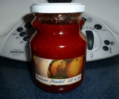 Erdbeermandel-Marmelade mit Amaretto