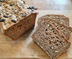 4 Minuten Vollkorn Brot