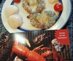 Gerrys Delikatess-Jakobsmuscheln in feiner Safransoße mit Sesam