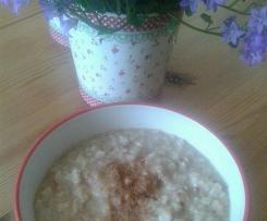 *warmer Weetabix Apfel Porridge*