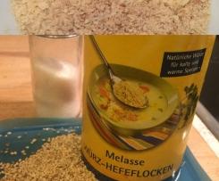 Aromatischer veganer Parmesanersatz