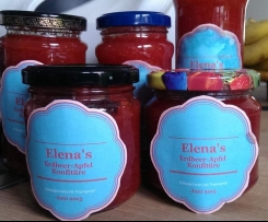 Elena's Erdbeer-Apfel Konfitüre