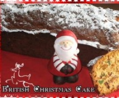 Englischer Früchtekuchen / British Christmas Cake