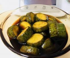 Chinesische saure Gurken 酱黄瓜