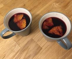 Granatapfel Glühwein