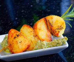 Tapas - Röstkartoffeln mit Olivendip