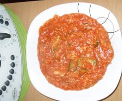Tomatenreis mit Hühnchen