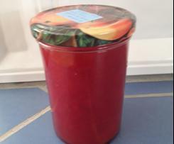 Mango-Johannisbeer-Marmelade