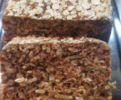 Kornkraft-Brot ohne Hefe und Mehl