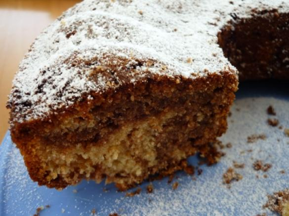 Schwarz Weiss Kuchen Mit Creme Fraiche Von Heimchen Ein Thermomix