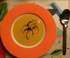 Kürbissuppe - sehr fein und super cremig