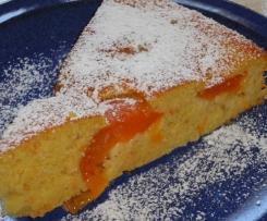Fruchtiger Marillenkuchen (Aprikosenkuchen)