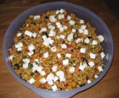 Kisir  -  Tomatenbulgur-Salat