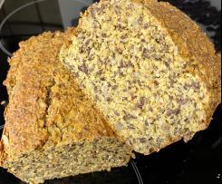 Eiweiß-Möhren-Brot (Low Carb)