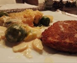Rosenkohl-Schlemmer-Gratin - vegan