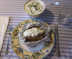 Zaziki-ähnlicher Dip à la WW zu Ofenkartoffeln