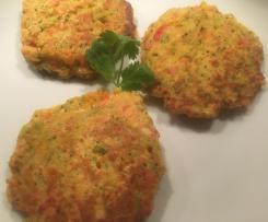 Brokkoli-Schinken-Küchle (Plätzchen)