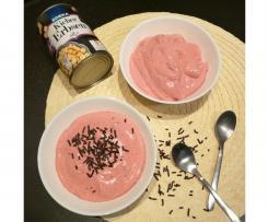 Fruchtmousse mit Aquafaba (Vegan)