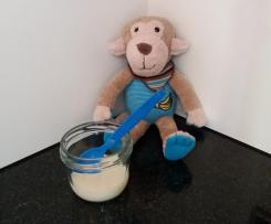 Milch-Getreide-Brei / Milch-Grießbrei ab dem 6. Monat / Babybrei