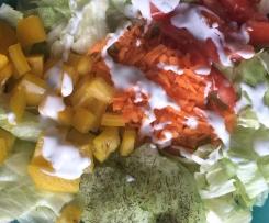 Erfrischendes Salatdressing, lecker und kalorienarm