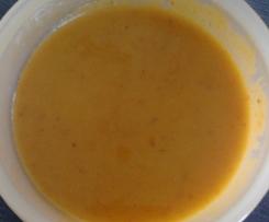Apfel-Kürbis-Cremesuppe